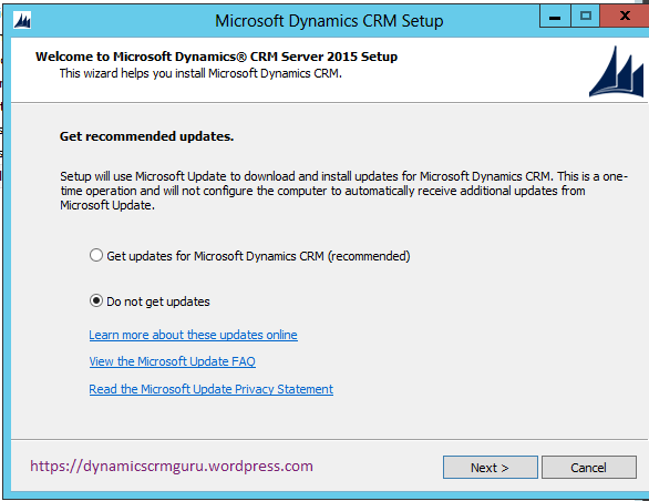 Windows Server 2012 - CRM00