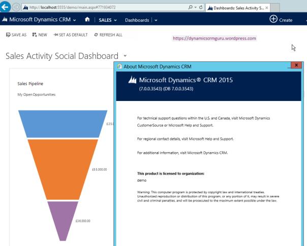 Windows Server 2012 - CRM25