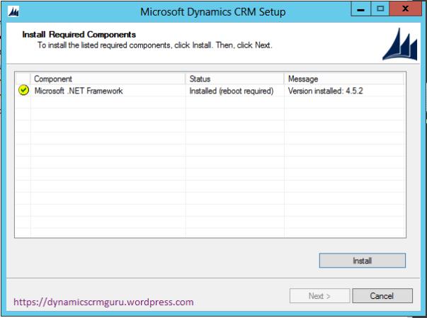 Windows Server 2012 - CRM5