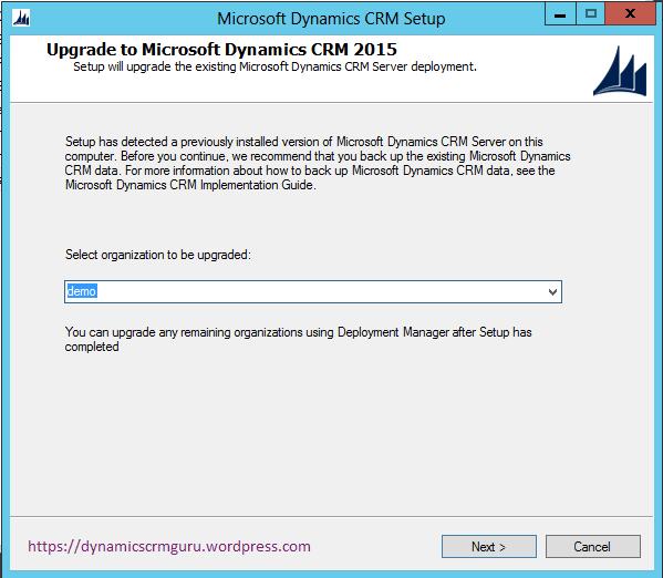 Windows Server 2012 - CRM6